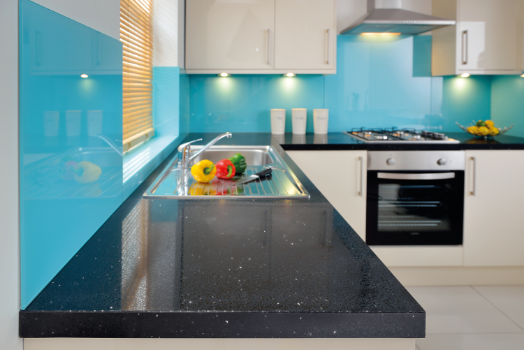 Maxtop Quartz black onyx worktop