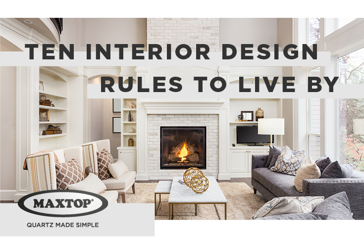 Interior design rules to live by