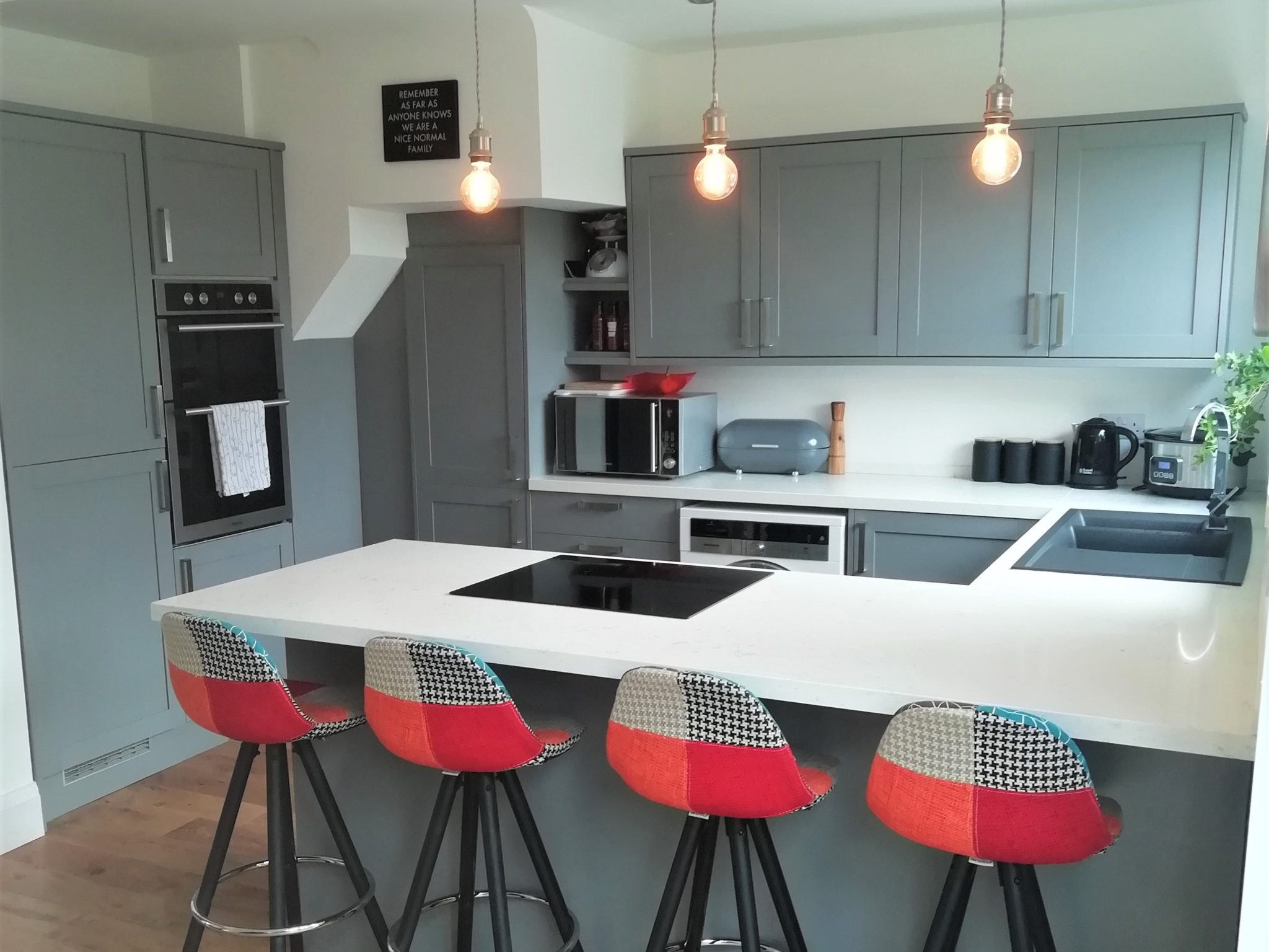 'Kid-proof' kitchen surface for family home